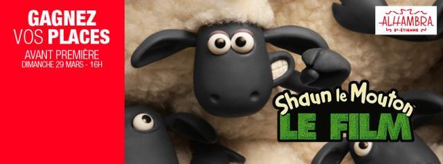 gagnez vos places pour shaun le mouton l 39 alhambra de. Black Bedroom Furniture Sets. Home Design Ideas