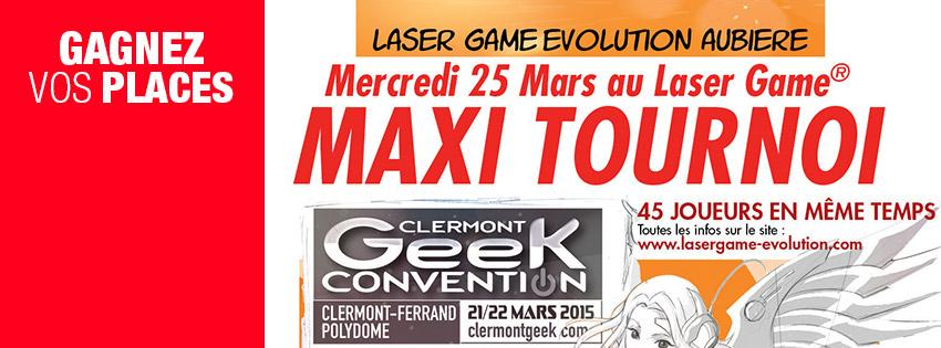 concours gagnez vos places pour le maxi tournoi laser game radio scoop. Black Bedroom Furniture Sets. Home Design Ideas