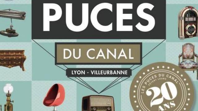Jusqu 39 dimanche les puces du canal f tent leur 20 ans radio scoop la radio de lyon - Les puces du canal lyon ...