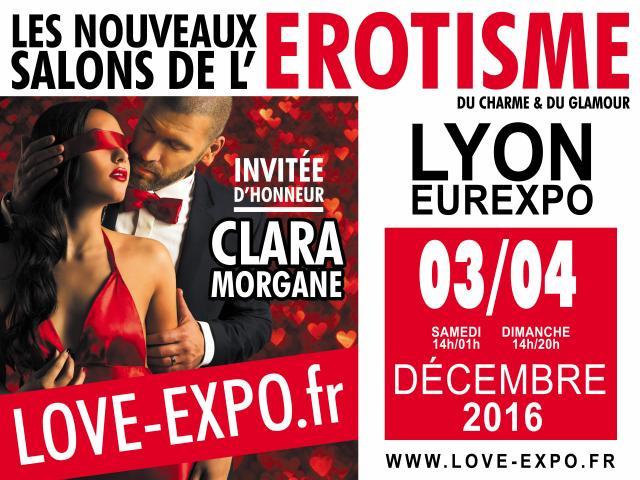 Love expo les nouveaux salons de l 39 rotisme lyon for Salon lyon 2016