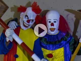 Killer Clowns reported in London and Watford