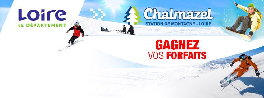 Gagnez vos forfaits ski pour Chalmazel - Radio Scoop