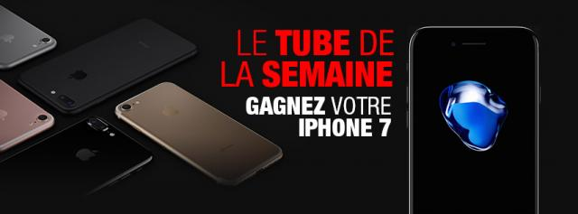 gagner iphone 7 radio contact