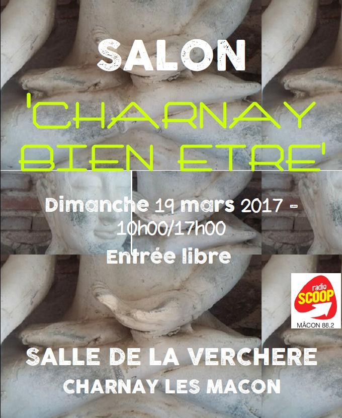 Salon charnay bien tre radio scoop for Salon bien etre rennes