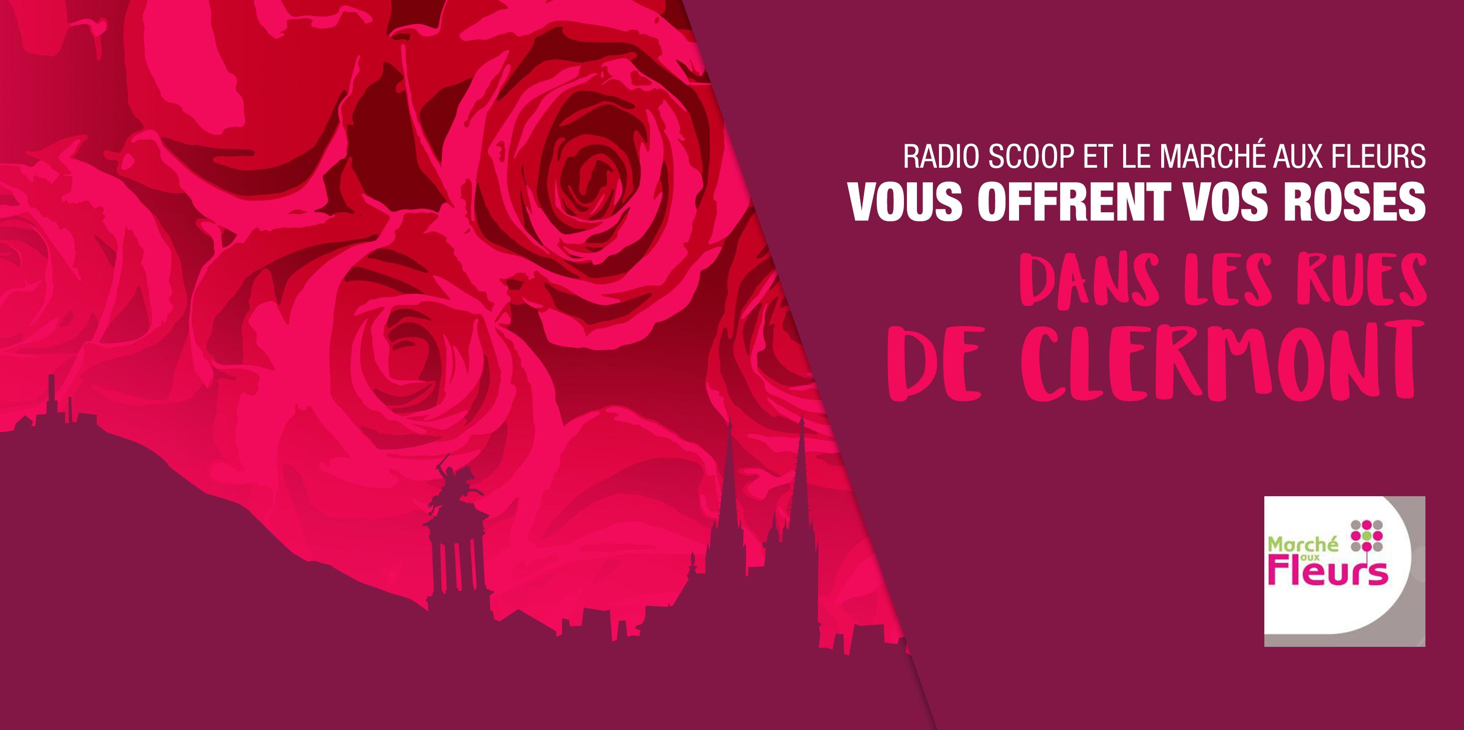 saint valentin radio scoop vous offre des roses clermont radio scoop. Black Bedroom Furniture Sets. Home Design Ideas