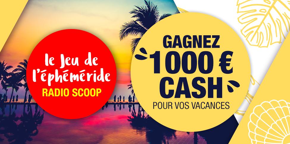 Gagnez euros cash pour vos vacances avec radio scoop for Cash piscine clermont
