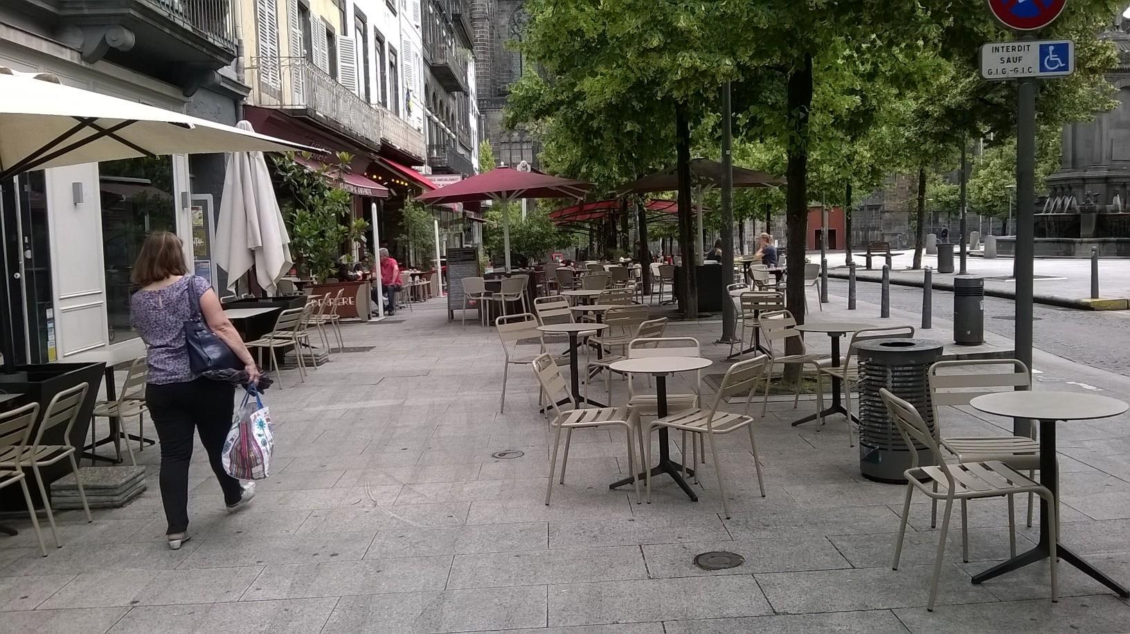 Clermont ferrand veut plus d 39 harmonie sur les terrasses du - Toiture terrasse jardin clermont ferrand ...