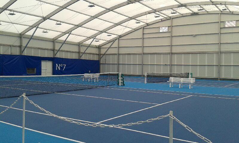 [PHOTOS] Bourg-en-Bresse inaugure (enfin) son complexe de tennis couvert