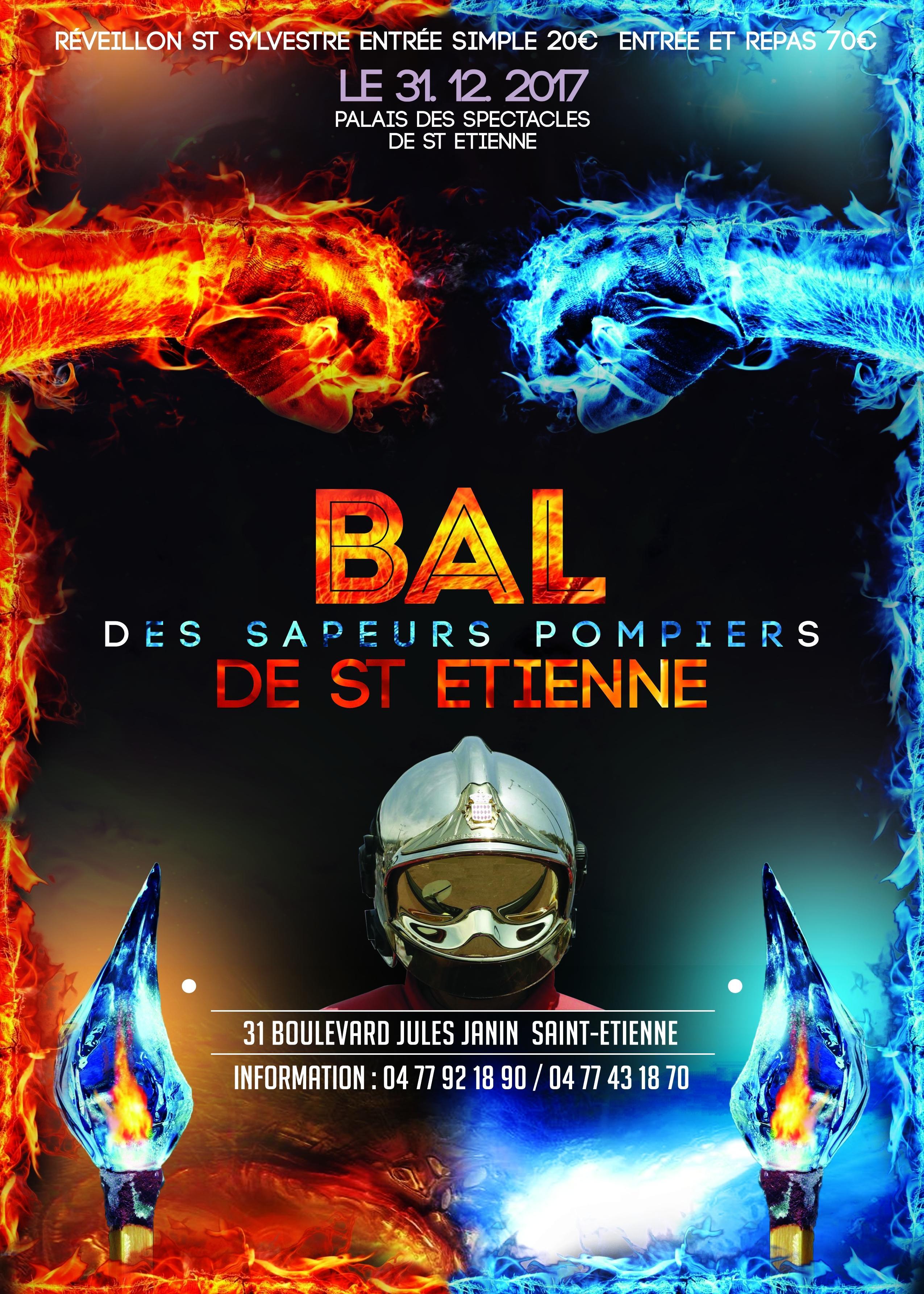 """Résultat de recherche d'images pour """"BAL DES POMPIERS A ST ETIENNE LE 31 DECEMBRE 2017"""""""