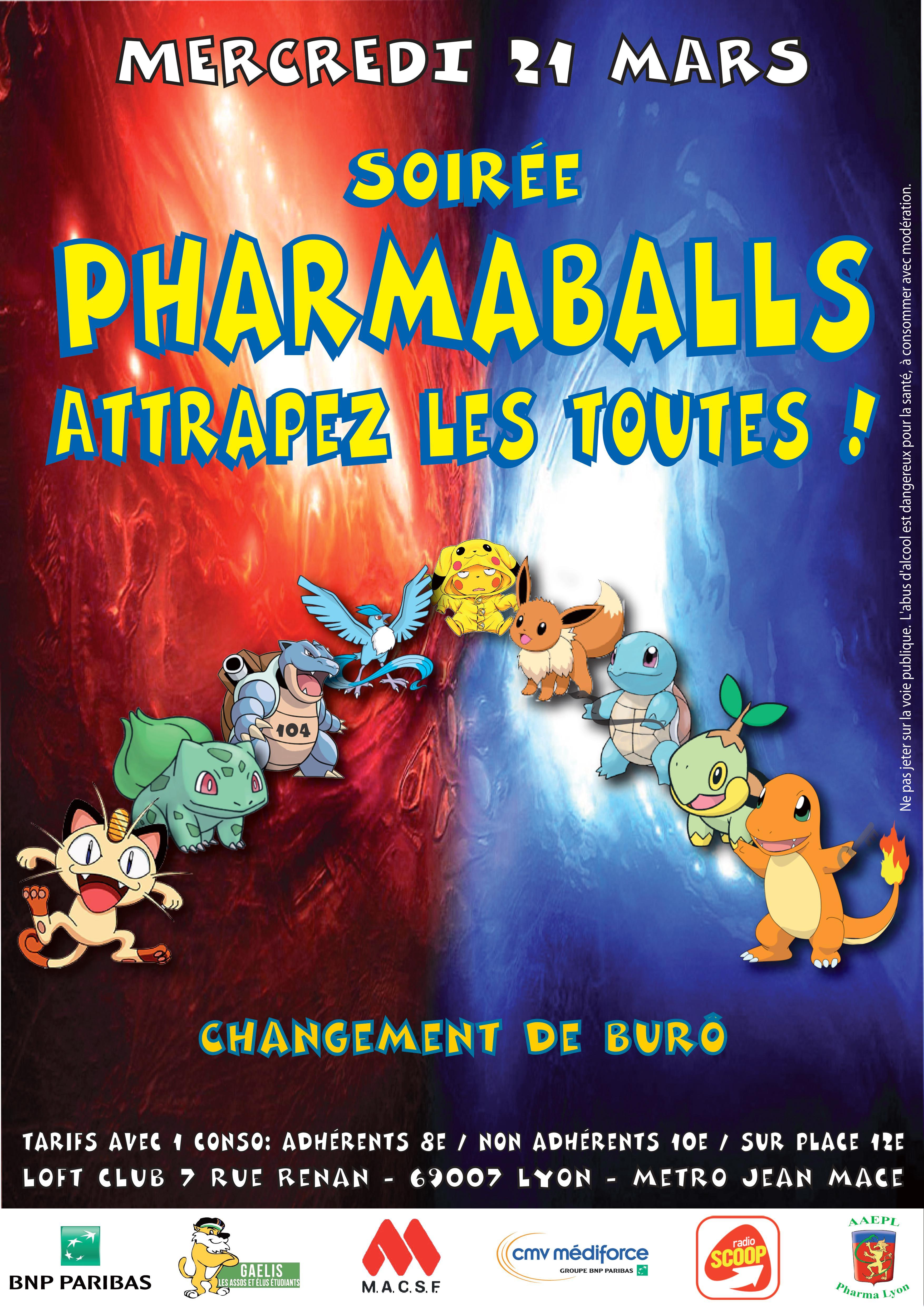 Soir e tudiante pharmaballs changement de bur for Buro club lyon