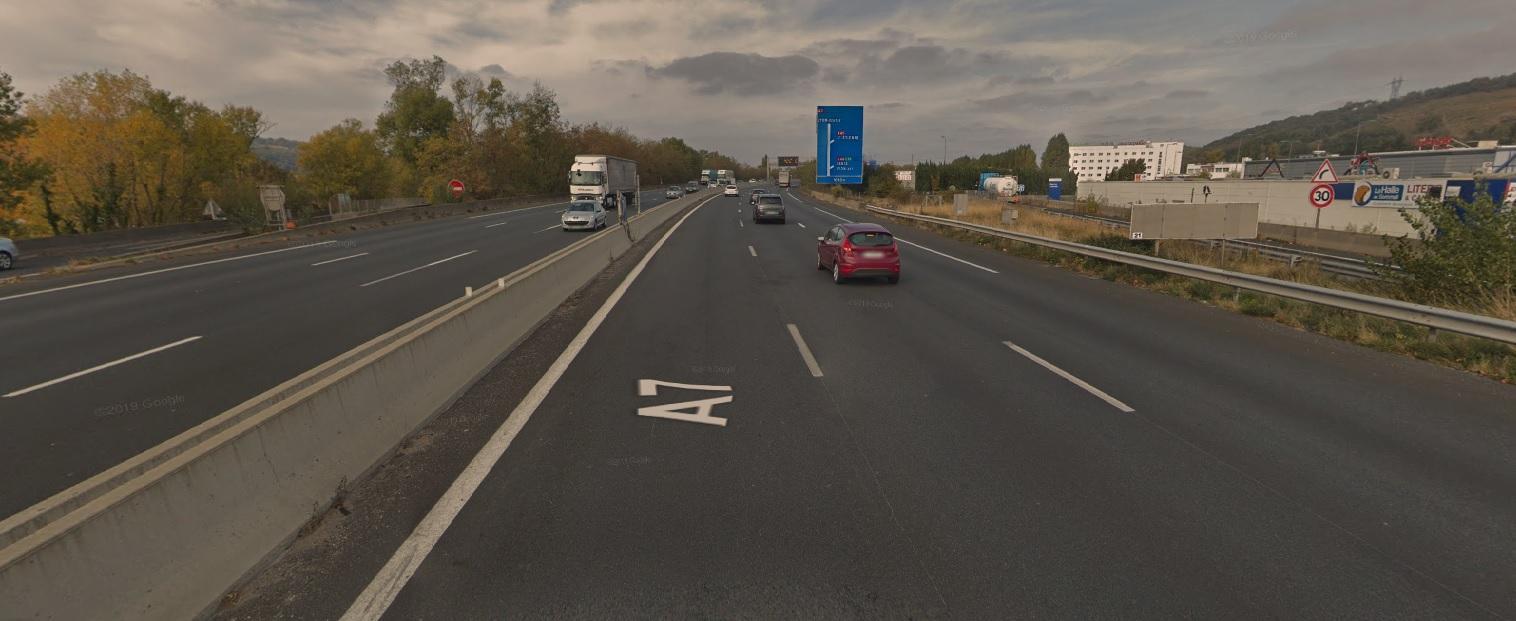 Rhône : un homme de 25 ans se tue sur l'A7