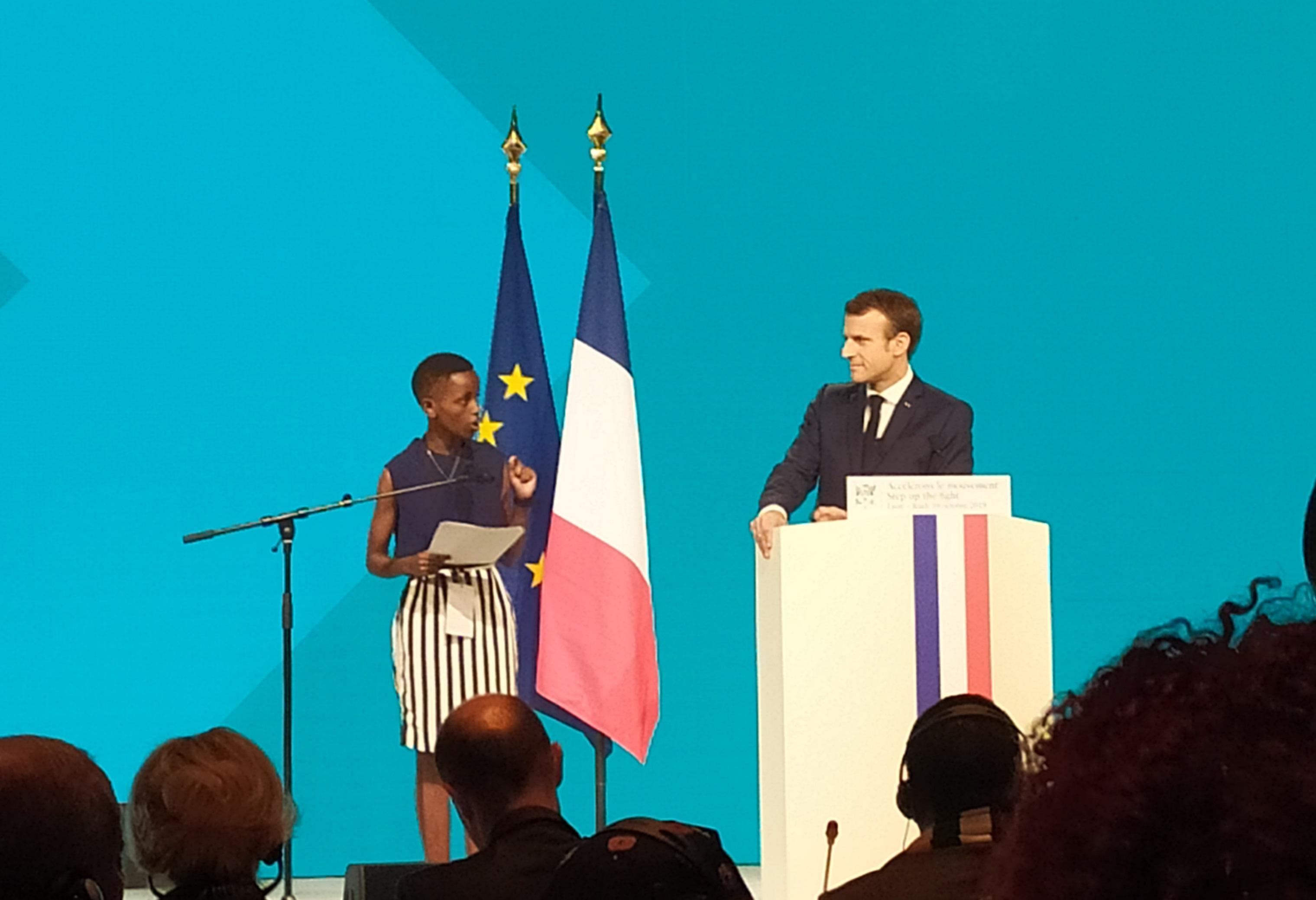 """Emmanuel Macron : """"Personne ne quittera Lyon sans que nous ayons les 14 milliards"""""""
