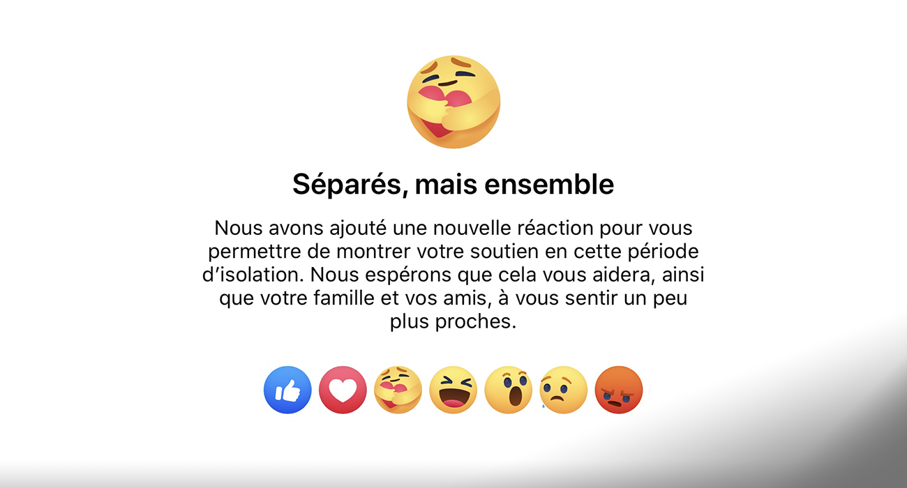 Coronavirus Facebook Lance Le Nouveau Bouton Reaction Solidaire Radio Scoop