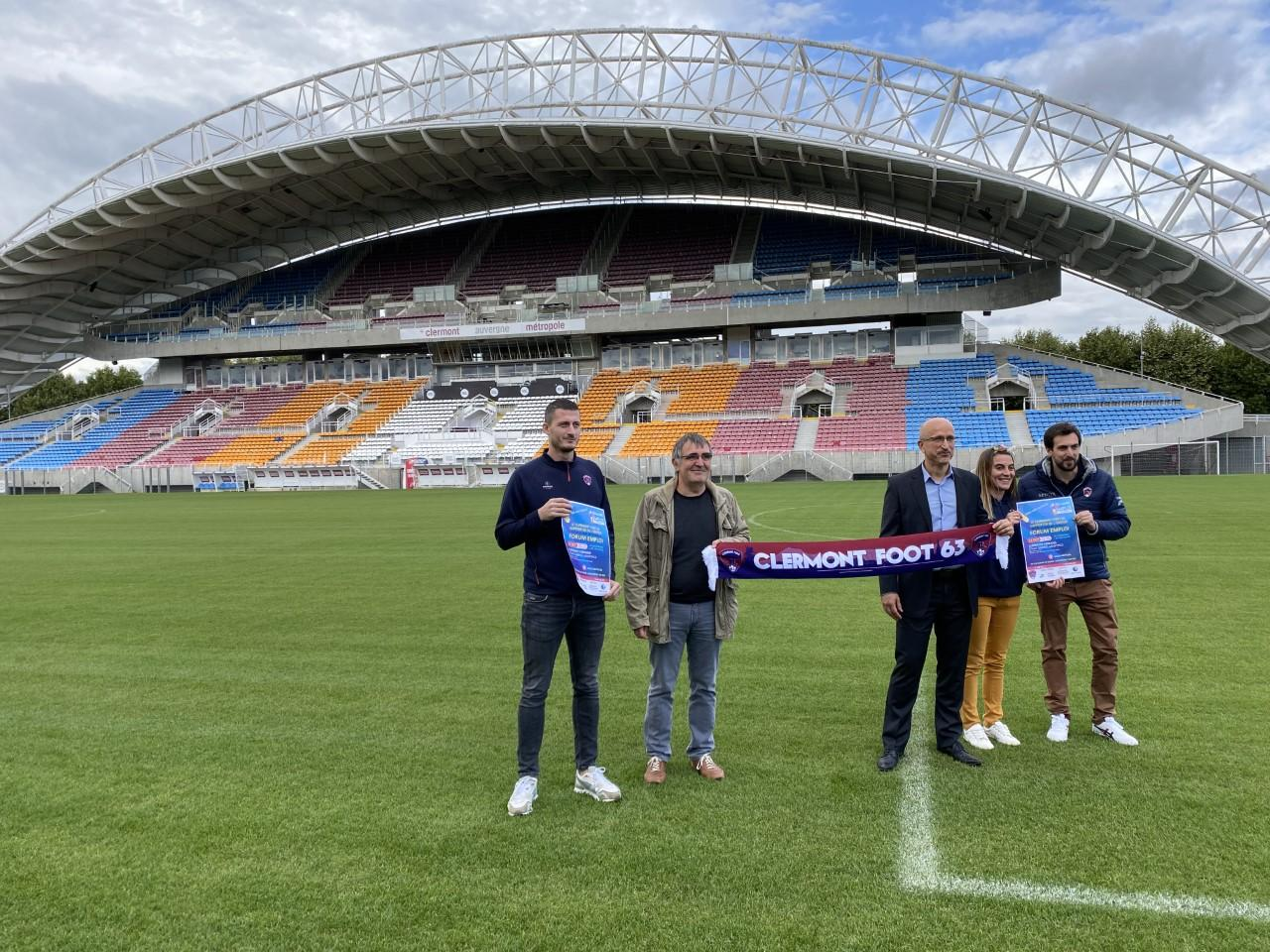 Clermont-Ferrand: employment discussion board organized on the Montpied stadium