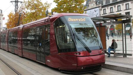clermont ferrand le tram compl tement l 39 arr t cet t radio scoop. Black Bedroom Furniture Sets. Home Design Ideas